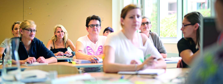 Unterricht am Bildungszentrum Diakonissen Linz