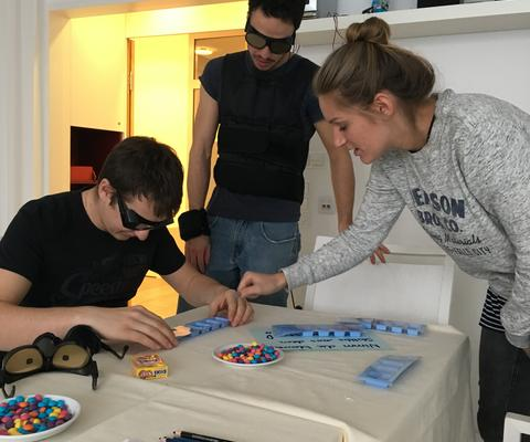 Praktischer Unterreicht am Bildungszentrum Diakonissen Linz
